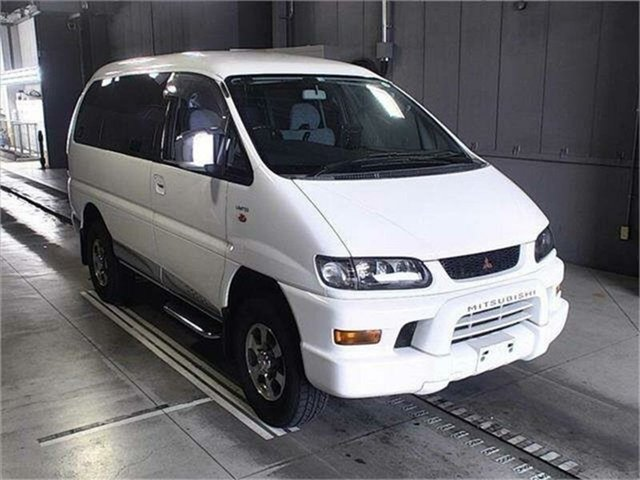 Used Mitsubishi Delica Silverwater, 2002 Mitsubishi Delica PD6W Limited 20th Anniversary White Sports Automatic Van Wagon