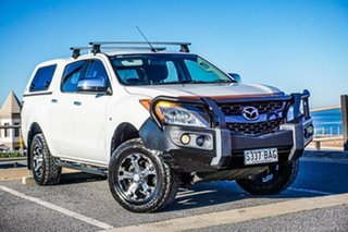 2013 Mazda BT-50 UP0YF1 XTR 4x2 Hi-Rider White 6 Speed Manual Utility.