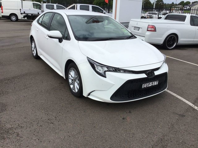 Used Toyota Corolla Mzea12R Ascent Sport Cardiff, 2019 Toyota Corolla Mzea12R Ascent Sport Glacier White 10 Speed Constant Variable Sedan