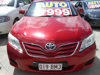 2010 Toyota Camry ACV40R MY10 Altise Red 5 Speed Automatic Sedan.