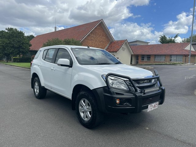 Used Isuzu MU-X MY15.5 LS-M Chermside, 2016 Isuzu MU-X MY15.5 LS-M White 5 Speed Automatic Wagon