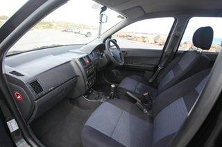 2008 Hyundai Getz TB MY07 S Black 5 Speed Manual Hatchback