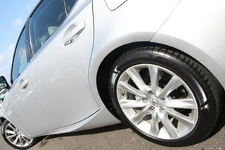 2013 Lexus IS GSE30R IS250 Luxury Silver 6 Speed Sports Automatic Sedan