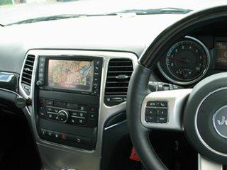 2012 Jeep Grand Cherokee WK MY12 Overland (4x4) White 6 Speed Automatic Wagon