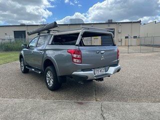 2015 Mitsubishi Triton MQ MY16 GLS (4x4) Grey 6 Speed Manual Dual Cab Utility