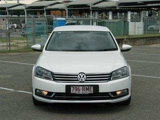 2011 Volkswagen Passat 3C MY11 125 TDI Highline White 6 Speed Direct Shift Sedan.
