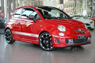 2017 Abarth 595 Series 4 Competizione Dualogic Red 5 Speed Sports Automatic Single Clutch Hatchback.