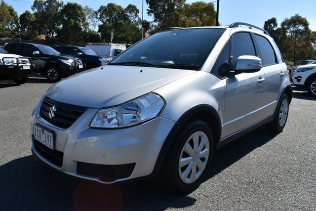 Used Suzuki SX4 GYA MY13 Crossover Navigator Wantirna South, 2014 Suzuki SX4 GYA MY13 Crossover Navigator Billet Silver 6 Speed Constant Variable Hatchback