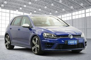 2017 Volkswagen Golf 7.5 MY17 R DSG 4MOTION Blue 7 Speed Sports Automatic Dual Clutch Hatchback.