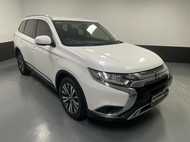 Used Mitsubishi Outlander ZL MY18.5 ES AWD Hamilton, 2018 Mitsubishi Outlander ZL MY18.5 ES AWD White 6 Speed Constant Variable Wagon