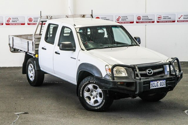 Pre-Owned Mazda BT-50 09 Upgrade Boss B3000 DX (4x4) Myaree, 2011 Mazda BT-50 09 Upgrade Boss B3000 DX (4x4) White 5 Speed Manual Dual Cab Pick-up