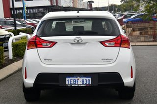 2012 Toyota Corolla ZRE182R Ascent S-CVT White 7 Speed Constant Variable Hatchback
