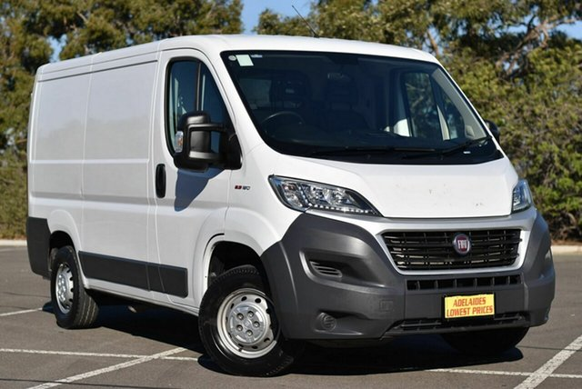 Used Fiat Ducato Series 6 Low Roof SWB Comfort-matic Enfield, 2016 Fiat Ducato Series 6 Low Roof SWB Comfort-matic White 6 Speed Sports Automatic Single Clutch
