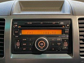 2010 Nissan Navara D40 ST Grey 5 Speed Automatic Utility