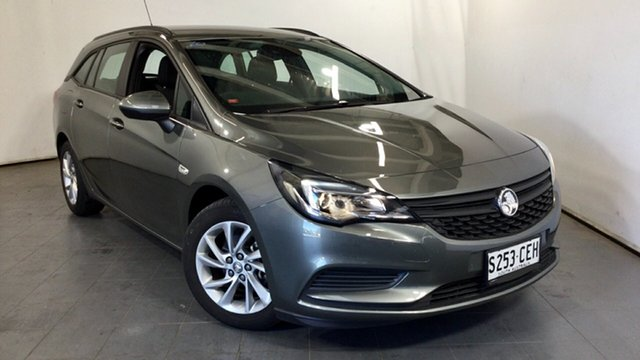Used Holden Astra BK MY18 LS+ Sportwagon Elizabeth, 2017 Holden Astra BK MY18 LS+ Sportwagon Grey 6 Speed Sports Automatic Wagon