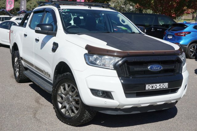 Used Ford Ranger PX MkII 2018.00MY FX4 Double Cab Phillip, 2018 Ford Ranger PX MkII 2018.00MY FX4 Double Cab White 6 Speed Sports Automatic Utility