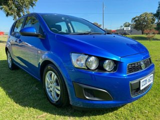 2012 Holden Barina TM Blue 6 Speed Automatic Hatchback.