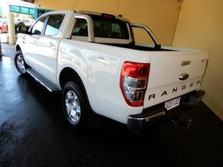2016 Ford Ranger PX MkII MY17 XLT 3.2 Hi-Rider (4x2) White 6 Speed Manual Crew Cab Pickup.