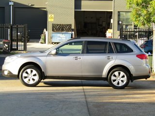 2010 Subaru Outback B5A MY10 2.5i Lineartronic AWD Premium Akoya Silver 6 Speed Constant Variable
