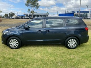 2015 Kia Carnival YP MY15 S Blue 6 Speed Sports Automatic Wagon