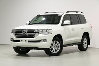 2020 Toyota Landcruiser VDJ200R LC200 VX (4x4) White 6 Speed Automatic Wagon.
