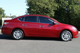 2013 Nissan Pulsar B17 ST Cayenne Red 1 Speed Constant Variable Sedan