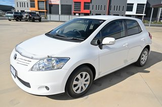 2010 Toyota Corolla ZRE152R MY10 Ascent White 6 Speed Manual Hatchback