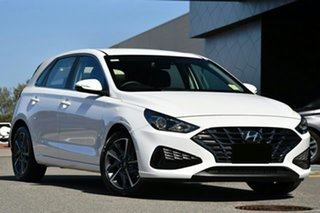 2021 Hyundai i30 PD.V4 MY21 Active Black 6 Speed Sports Automatic Hatchback.