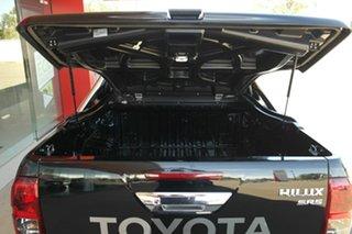 2015 Toyota Hilux GUN126R SR5 Double Cab Black 6 Speed Sports Automatic Utility