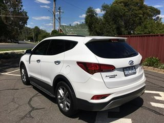 2016 Hyundai Santa Fe DM3 MY17 Highlander White 6 Speed Sports Automatic Wagon
