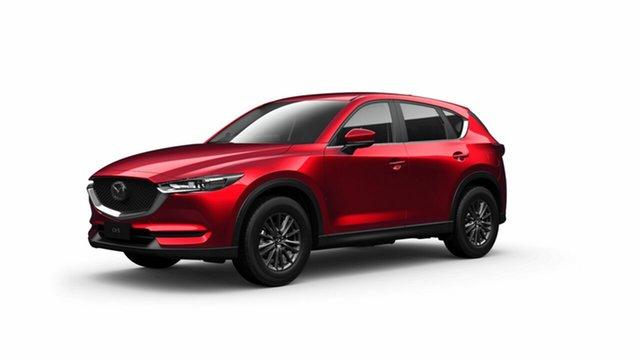 Demo Mazda CX-5 KF2W7A Maxx SKYACTIV-Drive FWD Sport Toowoomba, 2021 Mazda CX-5 KF2W7A Maxx SKYACTIV-Drive FWD Sport Soul Red Crystal 6 Speed Sports Automatic Wagon