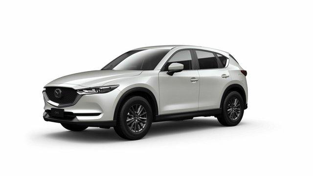 Demo Mazda CX-5 KF2W7A Maxx SKYACTIV-Drive FWD Toowoomba, 2021 Mazda CX-5 KF2W7A Maxx SKYACTIV-Drive FWD Snowflake White Pearl 6 Speed Sports Automatic Wagon
