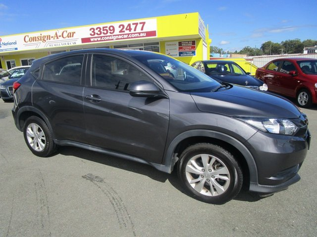 Used Honda HR-V MY17 VTi Kedron, 2017 Honda HR-V MY17 VTi Grey 1 Speed Constant Variable Hatchback