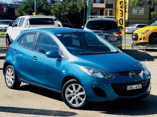 Used Mazda 2 DE10Y1 Maxx Liverpool, 2010 Mazda 2 DE10Y1 Maxx Blue 5 Speed Manual Hatchback