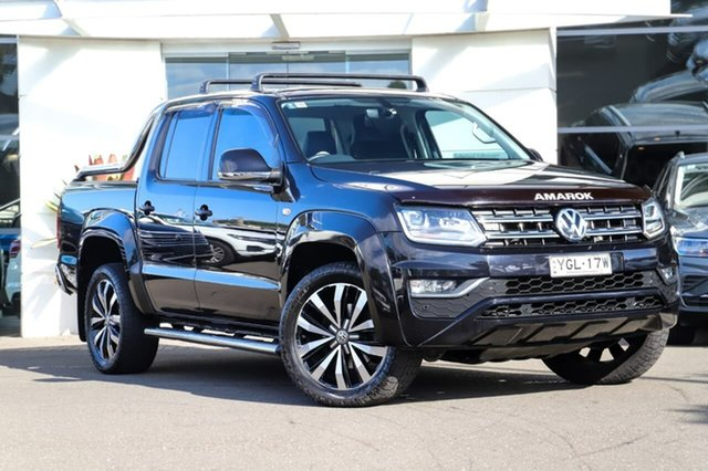 Used Volkswagen Amarok 2H MY17 TDI550 4MOTION Perm Ultimate Sutherland, 2017 Volkswagen Amarok 2H MY17 TDI550 4MOTION Perm Ultimate Black 8 Speed Automatic Utility