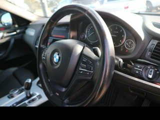 2014 BMW X4 F26 xDrive 20D Silver 8 Speed Automatic Coupe