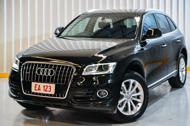 Used Audi Q5 8R MY15 TFSI Tiptronic Quattro Hendra, 2015 Audi Q5 8R MY15 TFSI Tiptronic Quattro Black 8 Speed Sports Automatic Wagon