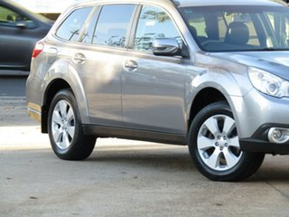 2010 Subaru Outback B5A MY10 2.5i Lineartronic AWD Premium Akoya Silver 6 Speed Constant Variable.