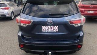 2015 Toyota Kluger GSU50R GX 2WD Blue 6 Speed Sports Automatic Wagon.