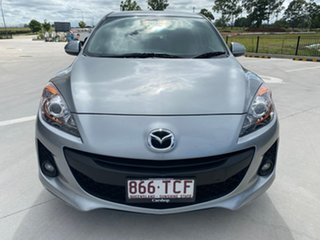 2013 Mazda 3 BL10F2 MY13 Maxx Sport Silver 6 Speed Manual Sedan