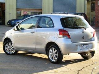 2009 Toyota Yaris NCP90R MY09 YR Adventurine Silver 4 Speed Automatic Hatchback