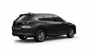 2021 Mazda CX-8 KG4W2A Asaki SKYACTIV-Drive i-ACTIV AWD LE Machine Grey 6 Speed Sports Automatic.
