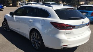 2020 Mazda 6 GL1033 GT SKYACTIV-Drive White 6 Speed Sports Automatic Wagon.