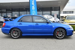 2004 Subaru Impreza S MY04 WRX AWD Blue 5 Speed Manual Sedan