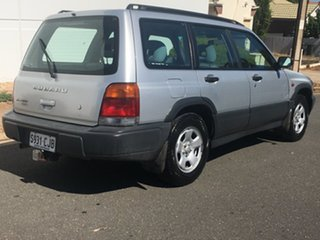 1997 Subaru Forester 79V Limited AWD Silver 4 Speed Automatic Wagon.