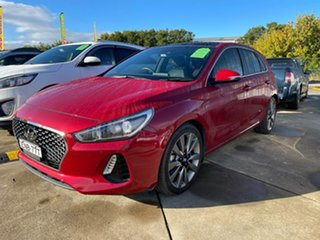 2017 Hyundai i30 PD MY18 SR D-CT Premium Red 7 Speed Sports Automatic Dual Clutch Hatchback.