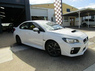 2015 Subaru WRX V1 MY15 Lineartronic AWD White 8 Speed Constant Variable Sedan.