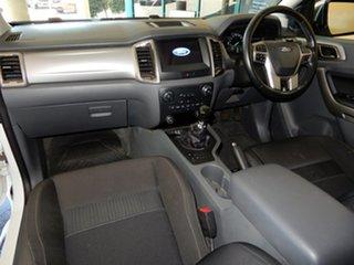 2016 Ford Ranger PX MkII MY17 XLT 3.2 Hi-Rider (4x2) White 6 Speed Manual Crew Cab Pickup.