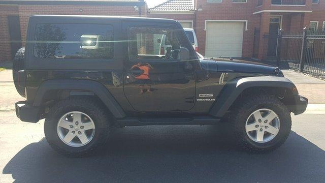 Used Jeep Wrangler JK MY13 Renegade Sport (4x4) Prospect, 2013 Jeep Wrangler JK MY13 Renegade Sport (4x4) Black 6 Speed Manual Hardtop