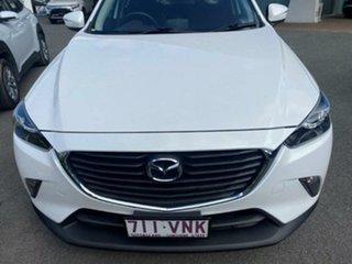 2015 Mazda CX-3 DK4W7A Maxx SKYACTIV-Drive i-ACTIV AWD Crystal White Pearl 6 Speed Sports Automatic